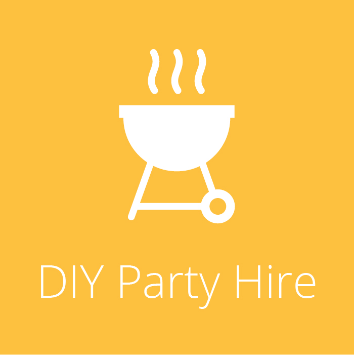 DIY Party Hire Icon - BBQ equipment